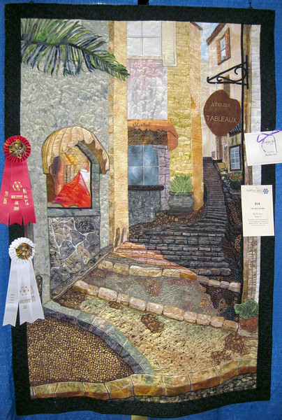 Second Place<br /> Artistic Merit<br /> The Red Shawl<br /> Marilyn Hood