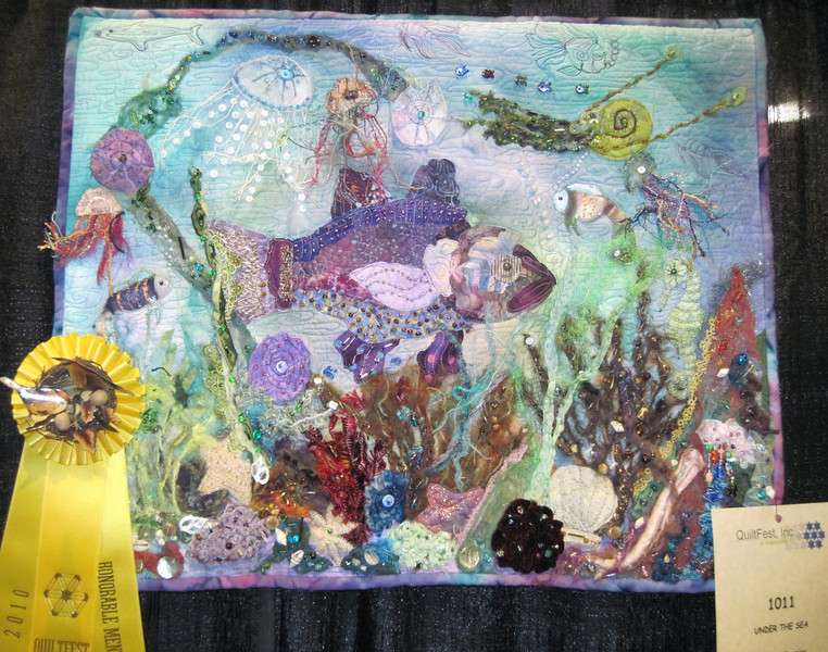 Honorable Mention<br /> Under the Sea<br /> Barbara Meunier