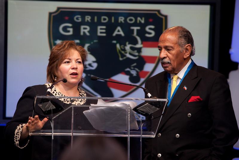 Congresswoman Sanchez and Congressman Conyers