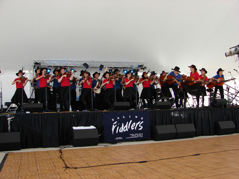 """Saline Fiddlers performed at the Tall Ships Festival near Corpus Christi, Texas on Independence day Sunday July 4th, 2010. This festival, titled """"Sail South Texas 2010"""", commemerated the visit from 4 tall ships from around the world. The actual location was the former Naval Staion Wharf in Ingleside, Texas. It made for an awsome day. Check out more here <a href=""""http://www.sailsouthtexas2010.com"""">http://www.sailsouthtexas2010.com</a>"""