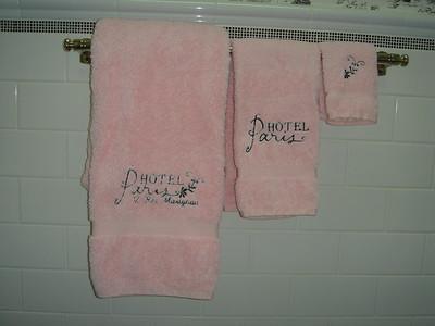"Pink ""Paris"" set"