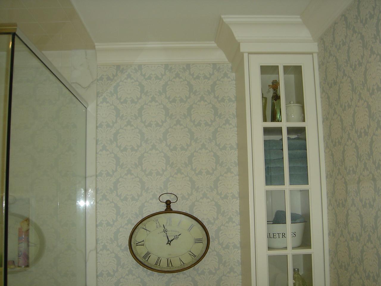 Upper part of corner