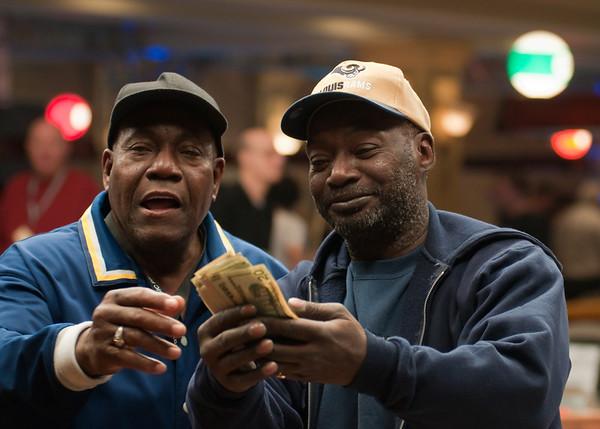 Donald Roach & Jet & the cash