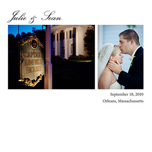 Julie + Sean: Album Layout