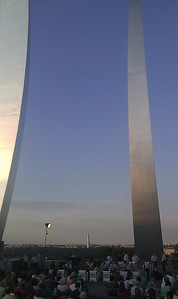 USAF Memorial foreground, Washington Monument in distance - SLunt photo