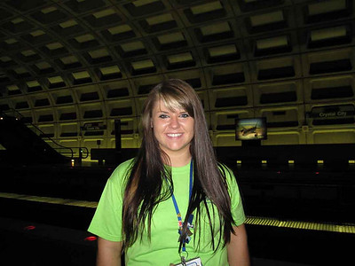 McKenna Wolf, from Midwest Energy Cooperative, was elected as this year's YLC representative. This photo was taken in the metro.