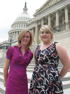 Lynches River Electric Cooperative delegates:  Rachel and Shelby