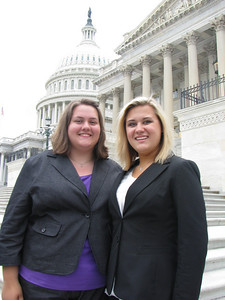 Newberry Electric Cooperative 2010 delegates: Sarah and Hannah