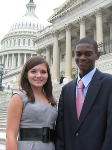 Santee Electric Cooperative 2010 delegates: Sydney and William