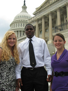Laurens Electric Cooperative 2010 delegates: Curry, Tavion and Heather