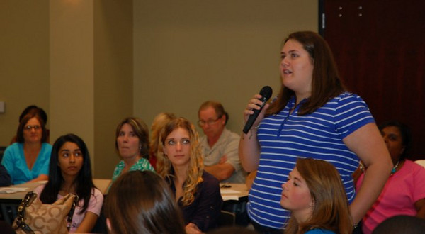 Sarah Wicker of Prosperity represents Newberry Electric Cooperative.