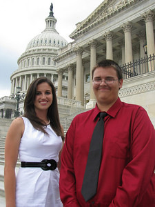 Edisto Electric Cooperative 2010 delegates: Kaitlin and Jason