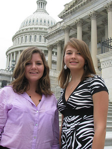 York Electric Cooperative 2010 delegates: Tanna and Michelle