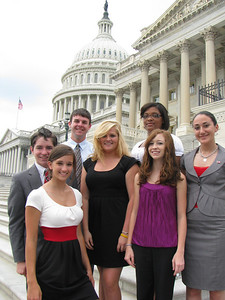 Aiken Electric Cooperative 2010 delegates: Corey, Ashley, Ethan, Ashlynn, Marci, Holly and Dai Dai.