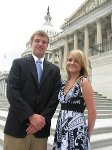 Marlboro Electric Cooperative 2010 delegates: Andrew and Melody