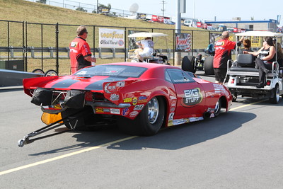 Pro Mod Staging Lanes