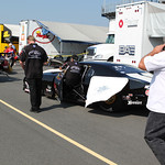 Pro Mod Staging Lanes : copyright SpeedZone Magazine (no use without prior authorization)