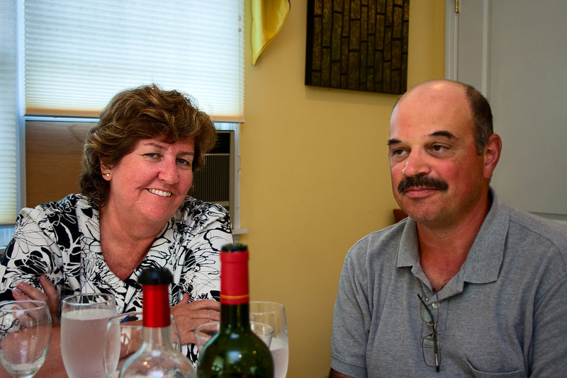Before Jim, Hildy and Dan headed off to Washington, we all went off to Karen & Rei's, a preferred dinner spot