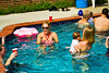 You might be getting the idea that the pool was the place to be.  Here's Chris, Chrissie and Tracy