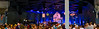 Here's a panorama of the set for Prairie Home Companion, prior to the start of the show.