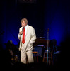 Garrison delivers the news from Lake Wobegon, where all the women are strong, all the men are good looking and all the children are above average.