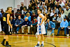 #22 for Wood had a big night with 5 3-pointers
