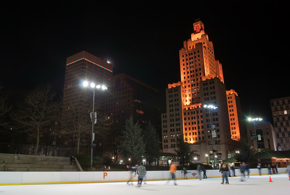 providence on a cold december evening