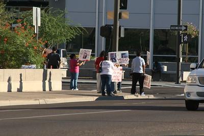 10-11-2010 Phoenix Police Protest