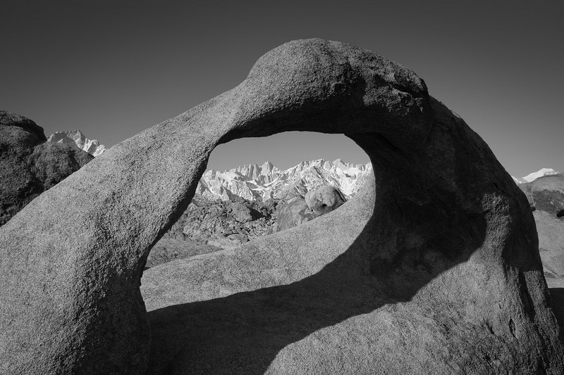 Arch in the Alabama Hills.