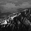 Following few photos are ariel view of Sierra mountain range over Nevada.  It is a part of Great Divide of United States