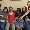 Noelle, Vinitha, Lucy, BABY!, Sarah, Lisa, Anna
