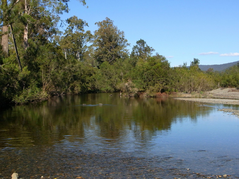 From the confluence of the Boyd and Nymboida Rvs, looking UP the Boyd Rv