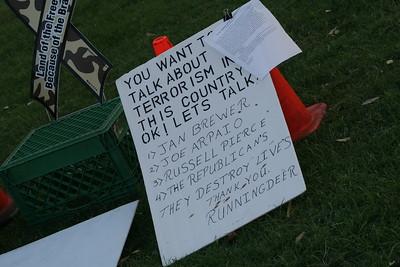 07-12-2010 Vigil - Plowshares art