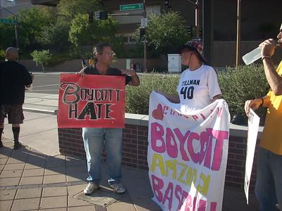 08-18-2010 Diamondbacks Protest