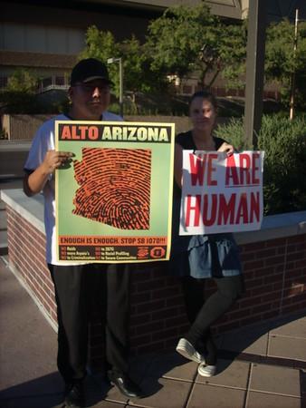 09-25-2010 DBacks Protest