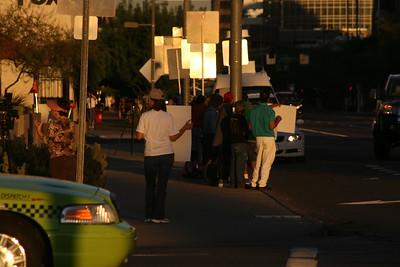 10-08-2010 Phoenix Police Protest