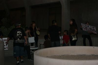 10-10-2010 Phoenix Police Protest