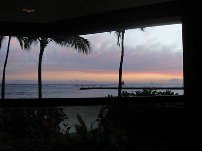 View From Dinner Table at Bali Steakhouse