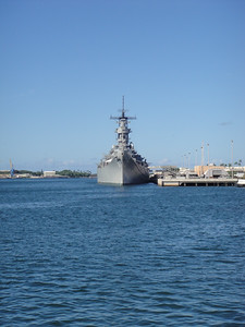 USS Missouri From USS Arizona