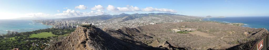 Oahu From Diamond Head