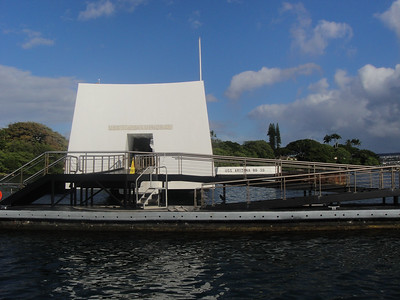 Approaching USS Arizona