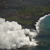 Puhi-o-Kalaikini (Lava Flow Into Ocean)