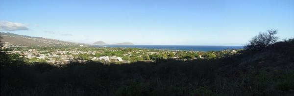 Panorama From Diamond Head Entrance