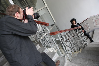 ... do toho fotografové