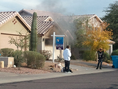 12-6 Phoenix Garage Fire