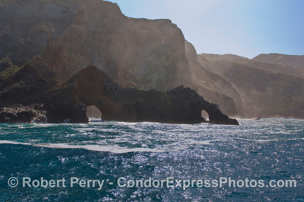 Santa Cruz Island - Arch Rock.