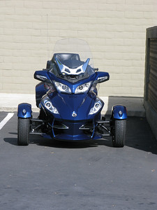 A Can-Am that happened to be parked in the lot.