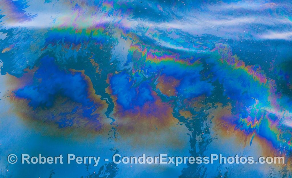 Abstract ocean surface - Santa Barbara Channel.