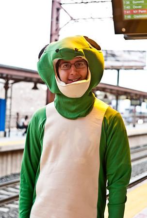 2010-08-18 - PA Ink, Green Lizard Man
