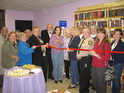 2010-10-19 Ribbon Cutting Ceremony for A Novel Experience